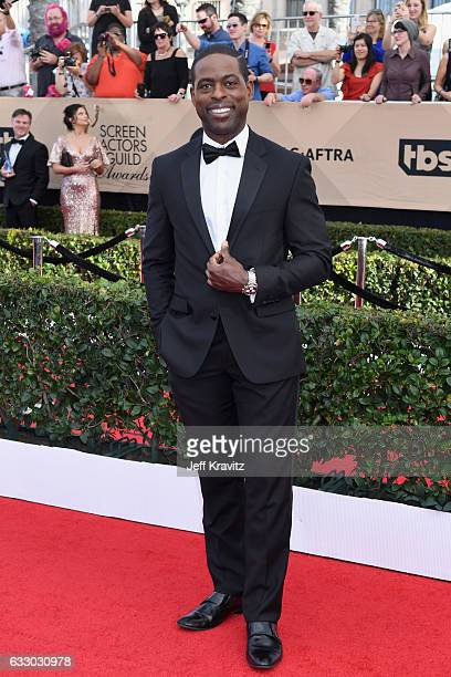 Actor Sterling K Brown attends the 23rd Annual Screen Actors Guild Awards at The Shrine Expo Hall on January 29 2017 in Los Angeles California