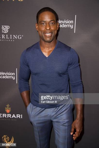 Actor Sterling K Brown attends the Television Academy Celebrates Nominees For Outstanding Casting at Montage Beverly Hills on September 7 2017 in...