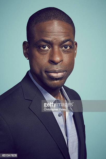 Actor Sterling K Brown poses for a portrait 2017 Film Independent filmmaker grant and Spirit Award nominees brunch at BOA Steakhouse on January 7...