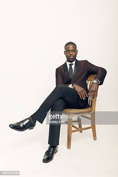 Actor Sterling K Brown poses for a portrait during the 2016 Critics Choice Awards on December 11 2016 in Santa Monica California