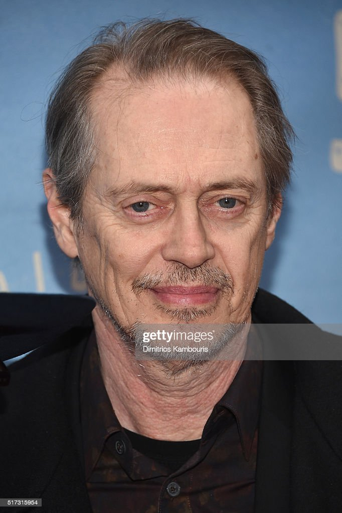 Actor Steve Buscemi attends 'Bright Star' Opening Night on Broadway at The Cort Theatre on March 24, 2016 in New York City.