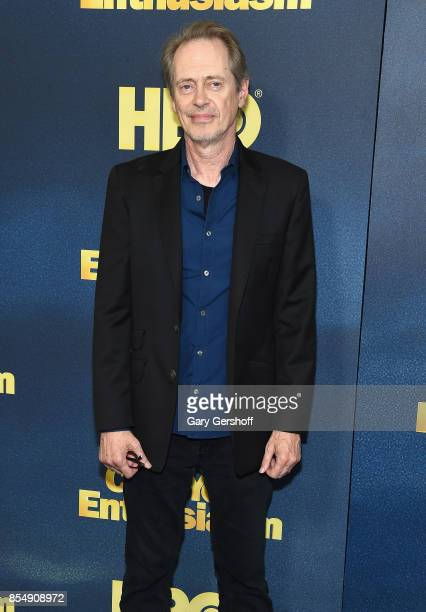 Actor Steve Buscemi attends 'Curb Your Enthusiasm' season 9 premiere at SVA Theater on September 27 2017 in New York City