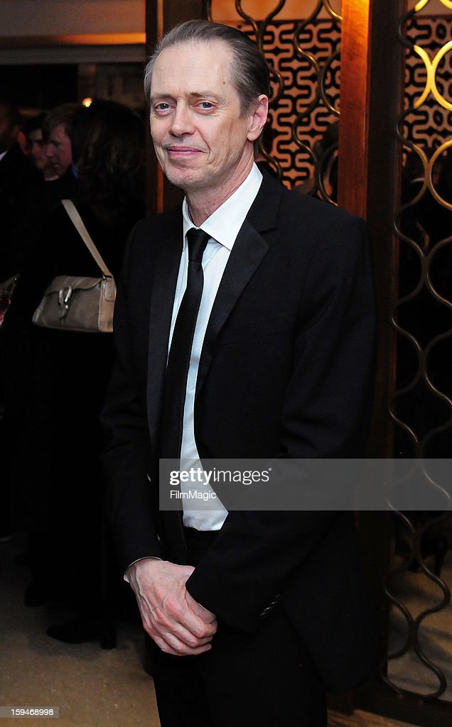 Actor Steve Buscemi attends HBO's Official Golden Globe Awards After Party held at Circa 55 Restaurant at The Beverly Hilton Hotel on January 13, 2013 in Beverly Hills, California.