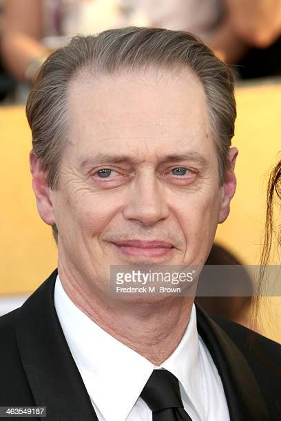 Actor Steve Buscemi attends the 20th Annual Screen Actors Guild Awards at The Shrine Auditorium on January 18 2014 in Los Angeles California