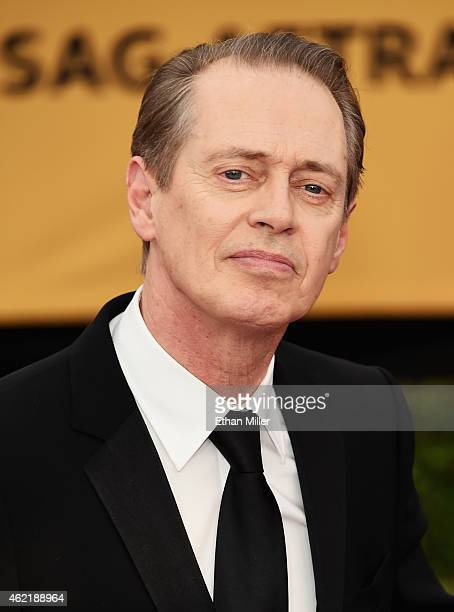 Actor Steve Buscemi attends the 21st Annual Screen Actors Guild Awards at The Shrine Auditorium on January 25 2015 in Los Angeles California