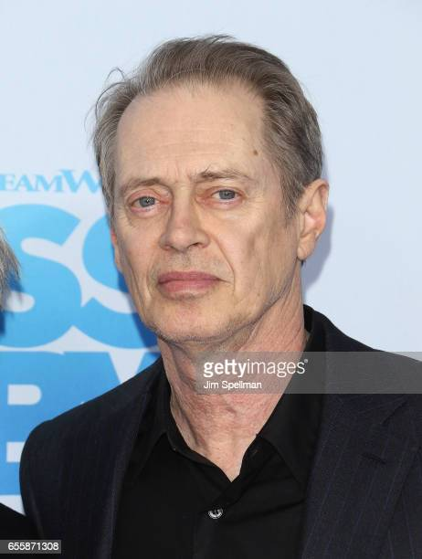 Actor Steve Buscemi attends 'The Boss Baby' New York premiere at AMC Loews Lincoln Square 13 theater on March 20 2017 in New York City