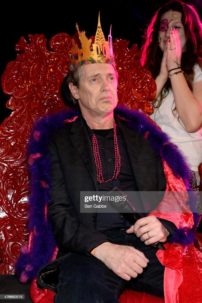 Actor <a gi-track='captionPersonalityLinkClicked' href=/galleries/search?phrase=Steve+Buscemi&family=editorial&specificpeople=207107 ng-click='$event.stopPropagation()'>Steve Buscemi</a> attends the fifth annual Two Boots Mardi Gras ball at Le Poisson Rouge on March 4, 2014 in New York City.