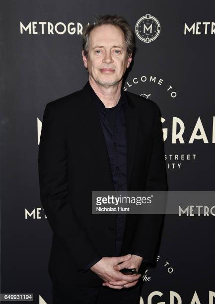 Actor Steve Buscemi attends the Metrograph Theater 1st Year Anniversary Party at The Metrograph on March 8 2017 in New York City