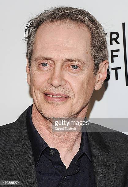Actor Steve Buscemi attends the Tribeca Film Festival Awards Night at Spring Studios on April 23 2015 in New York City