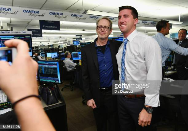 Actor Steve Buscemi poses for a photo during Annual Charity Day hosted by Cantor Fitzgerald BGC and GFI at Cantor Fitzgerald on September 11 2017 in...