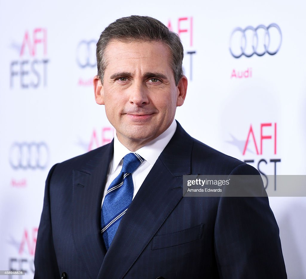 Actor <a gi-track='captionPersonalityLinkClicked' href=/galleries/search?phrase=Steve+Carell&family=editorial&specificpeople=595491 ng-click='$event.stopPropagation()'>Steve Carell</a> arrives at the AFI FEST 2014 Presented By Audi - Closing Night Gala Premiere of 'Foxcatcher' at the Dolby Theatre on November 13, 2014 in Hollywood, California.