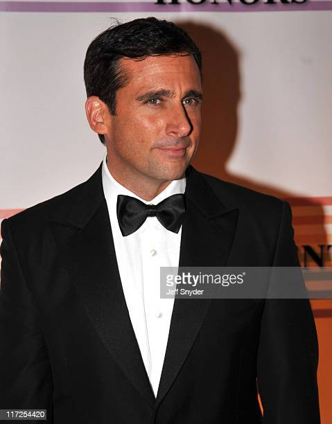 Actor Steve Carell arriving at The 30th Kennedy Center Honors on December 2 in Washington DC The 2007 honorees are pianist Leon Fleisher actor Steve...