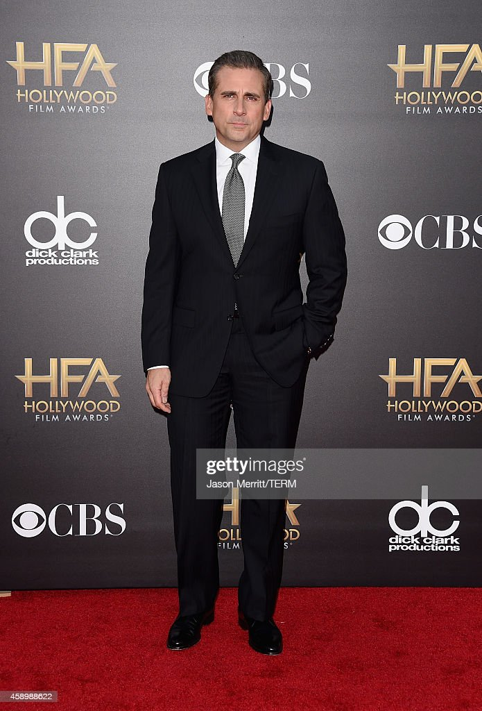 Actor Steve Carell attends the 18th Annual Hollywood Film Awards at The Palladium on November 14 2014 in Hollywood California