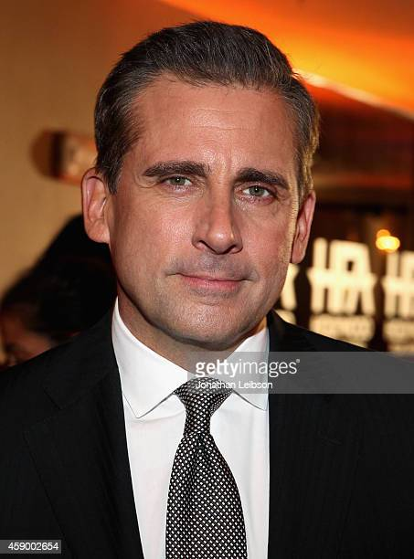 Actor Steve Carell attends the 18th Annual Hollywood Film Awards at The Palladium on November 14 2014 in Hollywood California CASAMIGOS Tequila is...