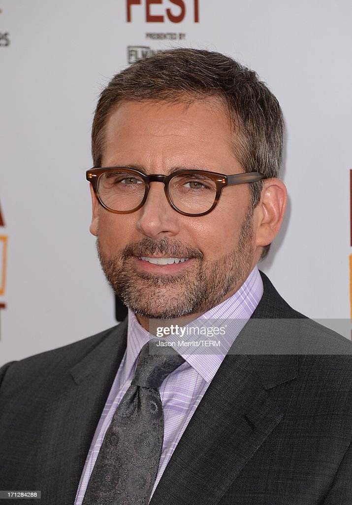 Actor <a gi-track='captionPersonalityLinkClicked' href=/galleries/search?phrase=Steve+Carell&family=editorial&specificpeople=595491 ng-click='$event.stopPropagation()'>Steve Carell</a> attends the 2013 Los Angeles Film Festival premiere of the Fox Searchlight Pictures' 'The Way, Way Back' held on June 23, 2013 in Los Angeles, California.