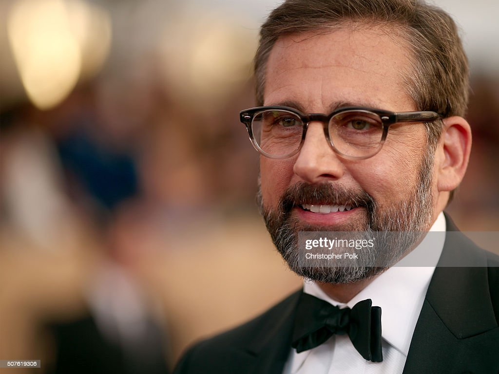 Actor <a gi-track='captionPersonalityLinkClicked' href=/galleries/search?phrase=Steve+Carell&family=editorial&specificpeople=595491 ng-click='$event.stopPropagation()'>Steve Carell</a> attends The 22nd Annual Screen Actors Guild Awards at The Shrine Auditorium on January 30, 2016 in Los Angeles, California. 25650_018