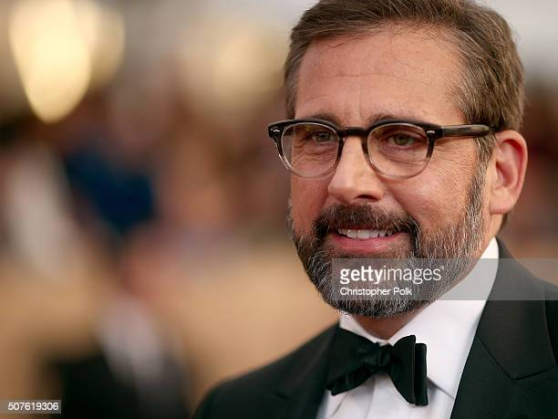 Actor Steve Carell attends The 22nd Annual Screen Actors Guild Awards at The Shrine Auditorium on January 30 2016 in Los Angeles California 25650_018