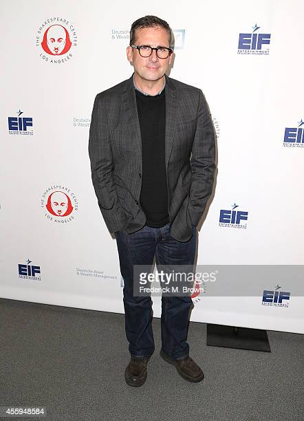 Actor Steve Carell attends the 24th Annual Simply Shakespeare at the Freud Playhouse UCLA on September 22 2014 in Westwood California