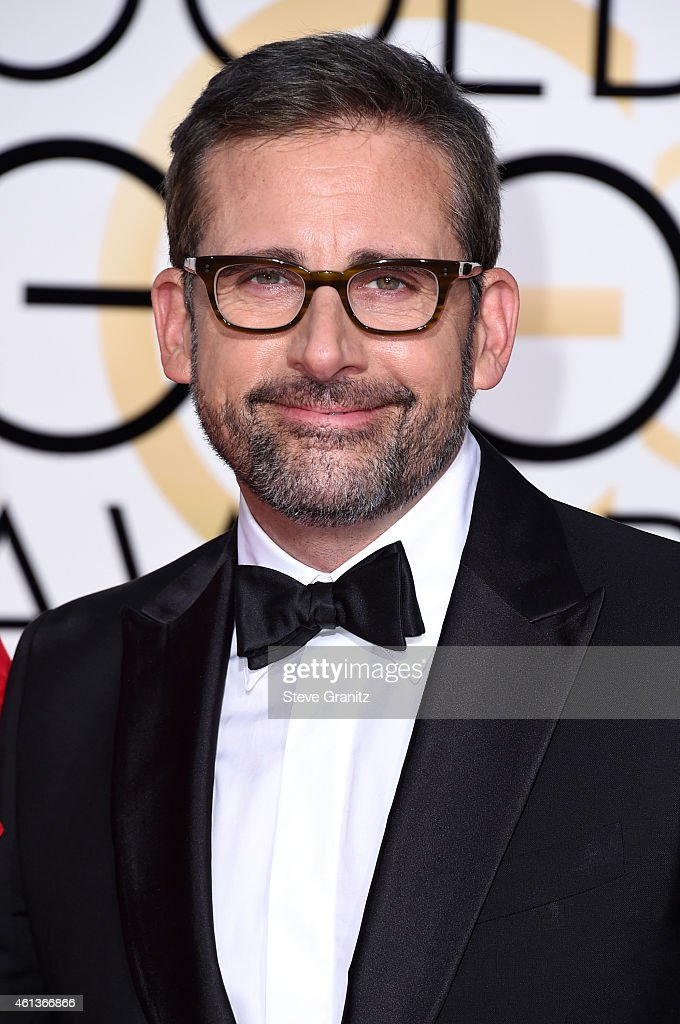 Actor <a gi-track='captionPersonalityLinkClicked' href=/galleries/search?phrase=Steve+Carell&family=editorial&specificpeople=595491 ng-click='$event.stopPropagation()'>Steve Carell</a> attends the 72nd Annual Golden Globe Awards at The Beverly Hilton Hotel on January 11, 2015 in Beverly Hills, California.