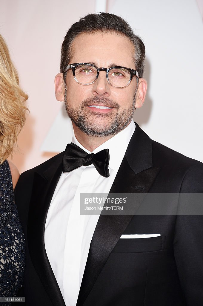 Actor <a gi-track='captionPersonalityLinkClicked' href=/galleries/search?phrase=Steve+Carell&family=editorial&specificpeople=595491 ng-click='$event.stopPropagation()'>Steve Carell</a> attends the 87th Annual Academy Awards at Hollywood & Highland Center on February 22, 2015 in Hollywood, California.