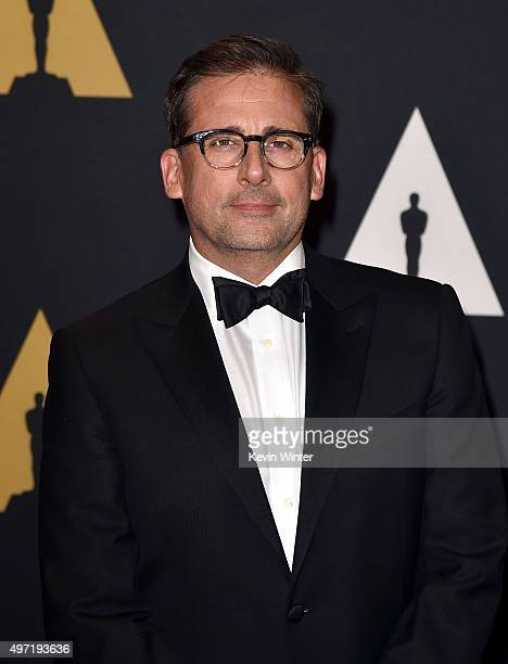 Actor Steve Carell attends the Academy of Motion Picture Arts and Sciences' 7th annual Governors Awards at The Ray Dolby Ballroom at Hollywood...