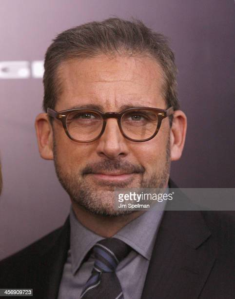 Actor Steve Carell attends the 'Anchorman 2 The Legend Continues' US premiere at Beacon Theatre on December 15 2013 in New York City