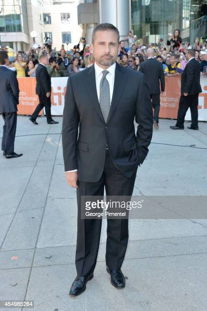 Actor Steve Carell attends the 'Foxcatcher' premiere during the 2014 Toronto International Film Festival at Roy Thomson Hall on September 8 2014 in...