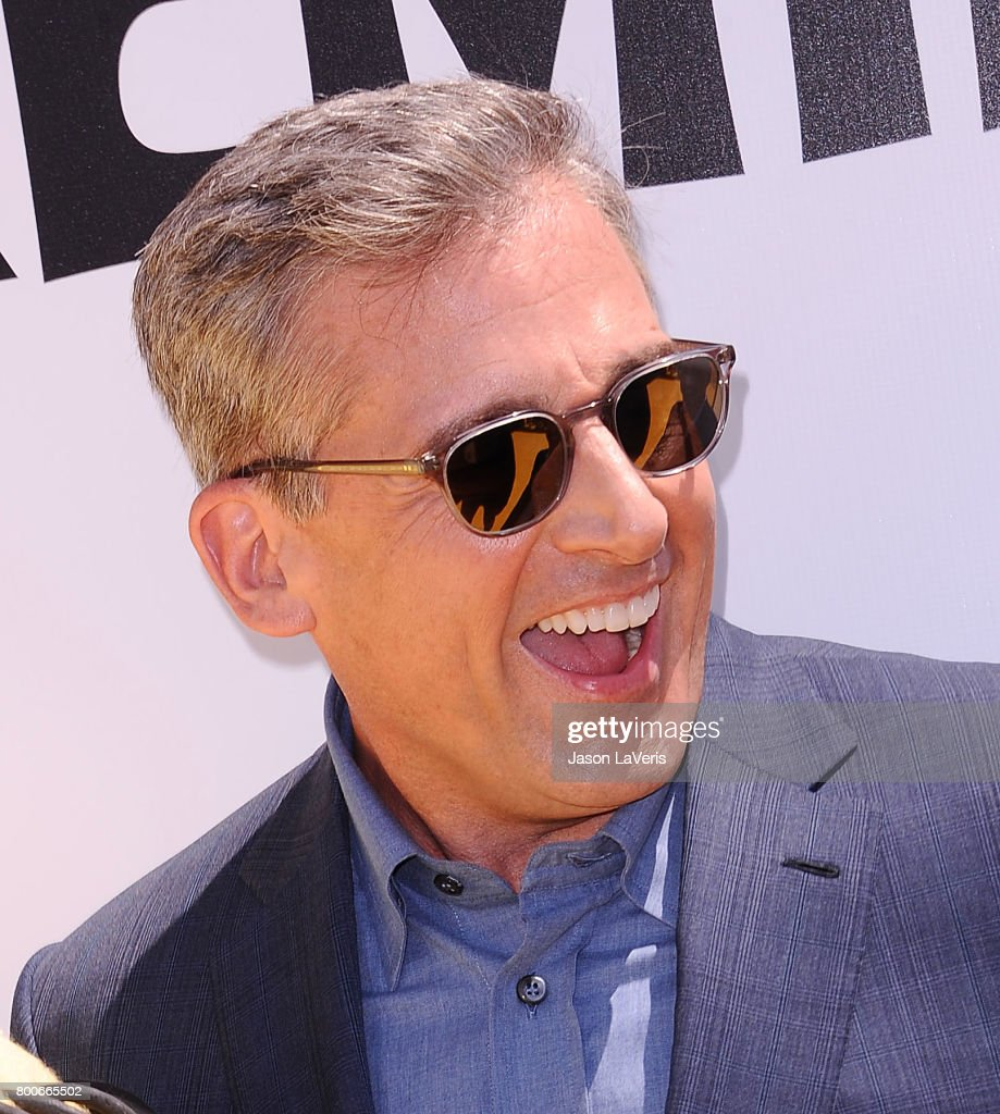 Actor Steve Carell attends the premiere of 'Despicable Me 3' at The Shrine Auditorium on June 24, 2017 in Los Angeles, California.
