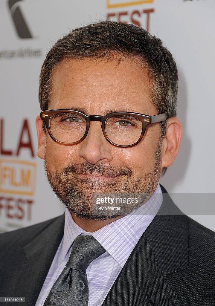Actor <a gi-track='captionPersonalityLinkClicked' href=/galleries/search?phrase=Steve+Carell&family=editorial&specificpeople=595491 ng-click='$event.stopPropagation()'>Steve Carell</a> attends the premiere of Fox Searchlight Pictures' 'The Way, Way Back' at Regal Cinemas L.A. Live on June 23, 2013 in Los Angeles, California.