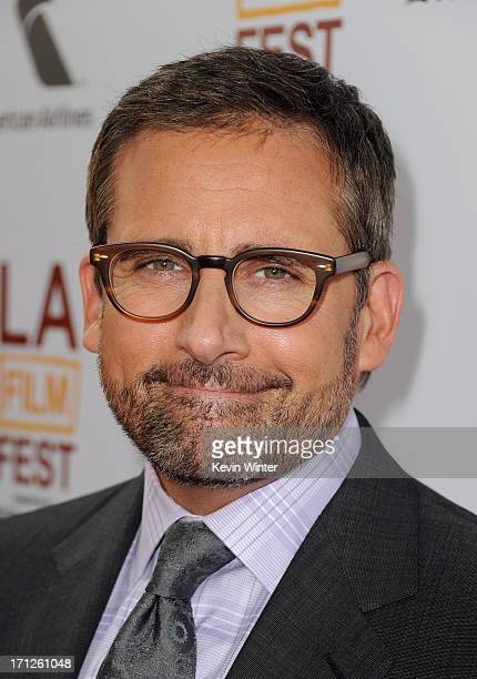 Actor Steve Carell attends the premiere of Fox Searchlight Pictures' 'The Way Way Back' at Regal Cinemas LA Live on June 23 2013 in Los Angeles...
