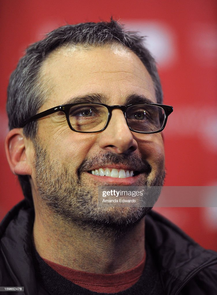Actor <a gi-track='captionPersonalityLinkClicked' href=/galleries/search?phrase=Steve+Carell&family=editorial&specificpeople=595491 ng-click='$event.stopPropagation()'>Steve Carell</a> attends the 'The Way, Way Back' premiere at Eccles Center Theatre during the 2013 Sundance Film Festival on January 21, 2013 in Park City, Utah.