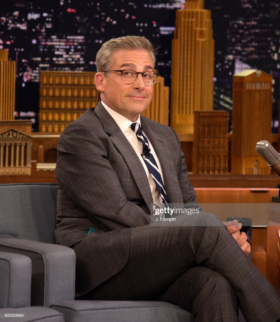 "Steve Carell Visits ""The Tonight Show Starring Jimmy Fallon"""