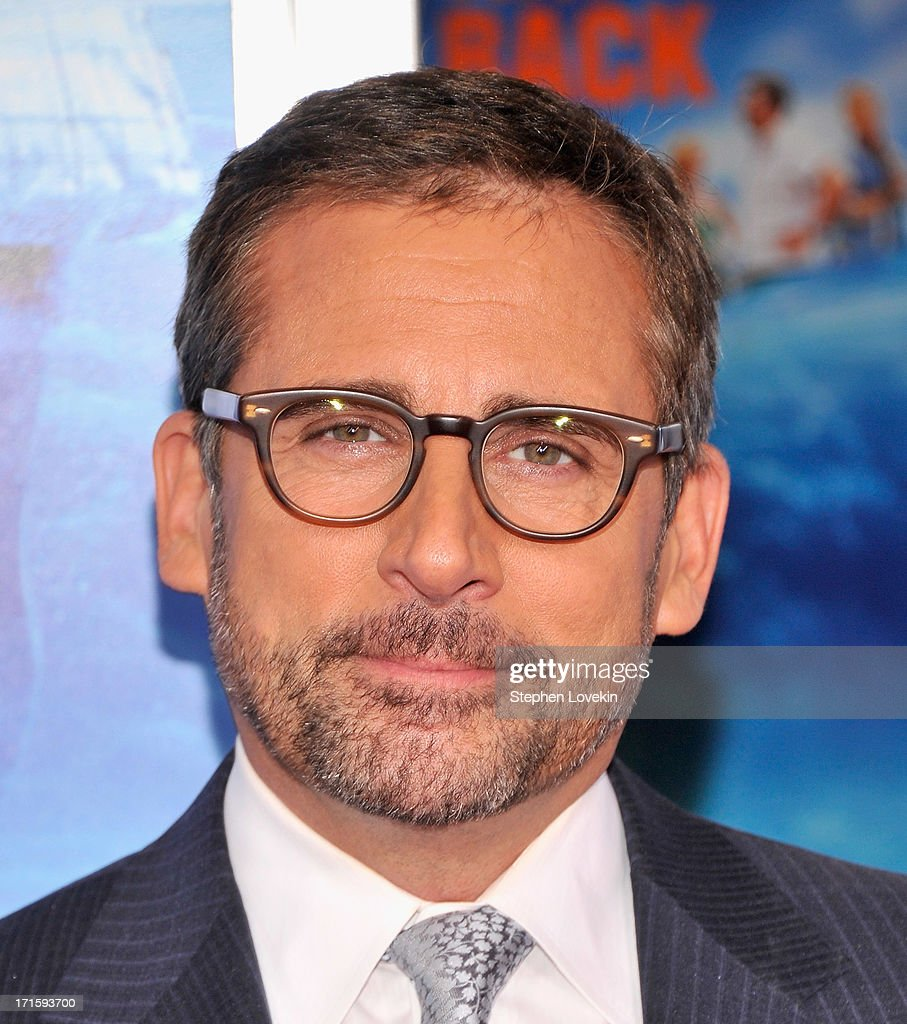 Actor <a gi-track='captionPersonalityLinkClicked' href=/galleries/search?phrase=Steve+Carell&family=editorial&specificpeople=595491 ng-click='$event.stopPropagation()'>Steve Carell</a> attends 'The Way, Way Back ' New York Premiere at AMC Loews Lincoln Square on June 26, 2013 in New York City.