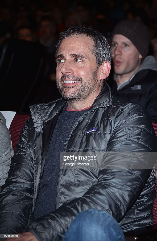 Actor Steve Carell attends 'The Way, Way Back' premiere at Eccles Center Theatre during the 2013 Sundance Film Festival on January 21, 2013 in Park City, Utah.