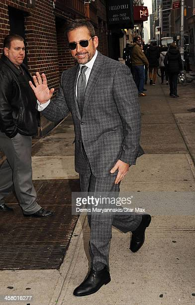Actor Steve Carell is seen on December 19 2013 in New York City