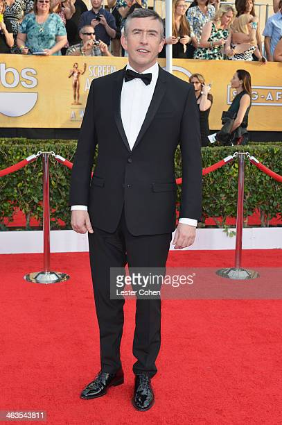 Actor Steve Coogan attends the 20th Annual Screen Actors Guild Awards at The Shrine Auditorium on January 18 2014 in Los Angeles California