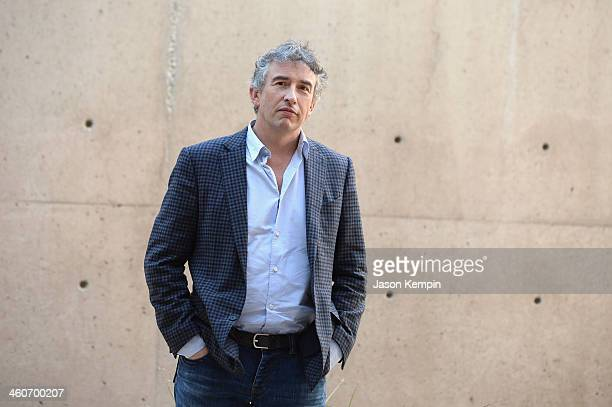 Actor Steve Coogan attends the 25th Annual Palm Springs International Film Festival Talking Pictures Steve Coogan at the Annenberg Auditorium on...