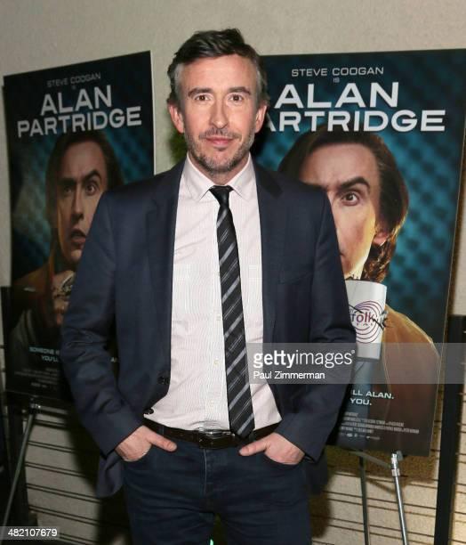 Actor Steve Coogan attends the 'Alan Partridge' New York screening at Landmark's Sunshine Cinema on April 2 2014 in New York City
