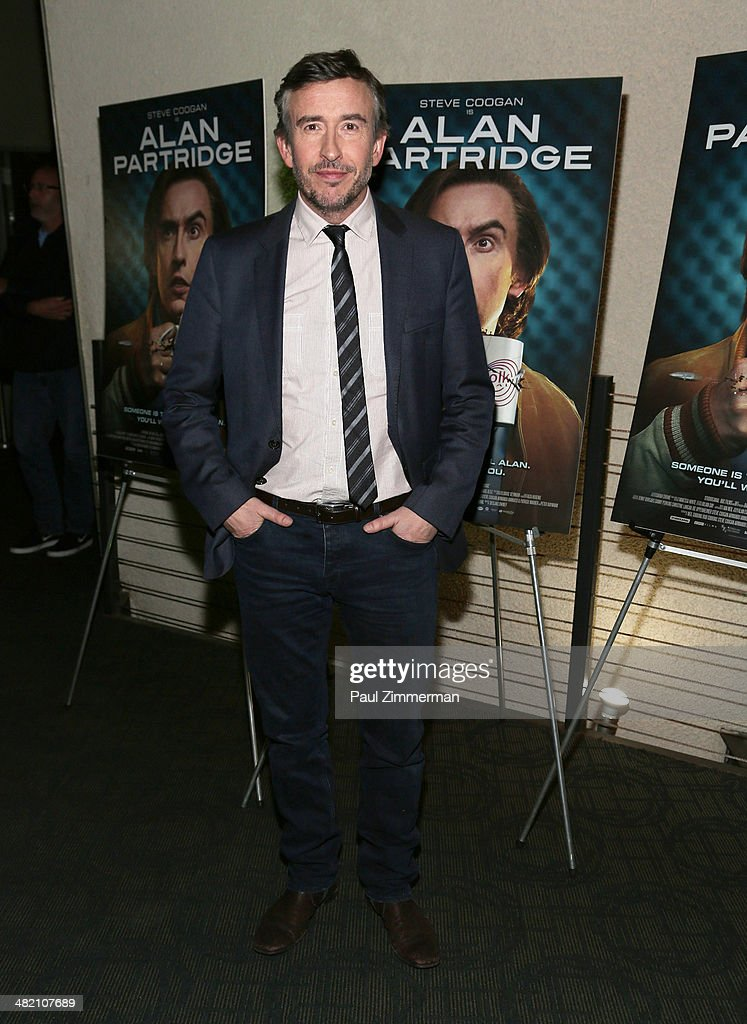Actor <a gi-track='captionPersonalityLinkClicked' href=/galleries/search?phrase=Steve+Coogan&family=editorial&specificpeople=204648 ng-click='$event.stopPropagation()'>Steve Coogan</a> attends the 'Alan Partridge' New York screening at Landmark's Sunshine Cinema on April 2, 2014 in New York City.