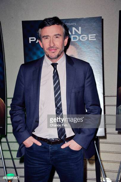 Actor Steve Coogan attends the 'Alan Partridge' New York screening reception on April 2 2014 in New York City