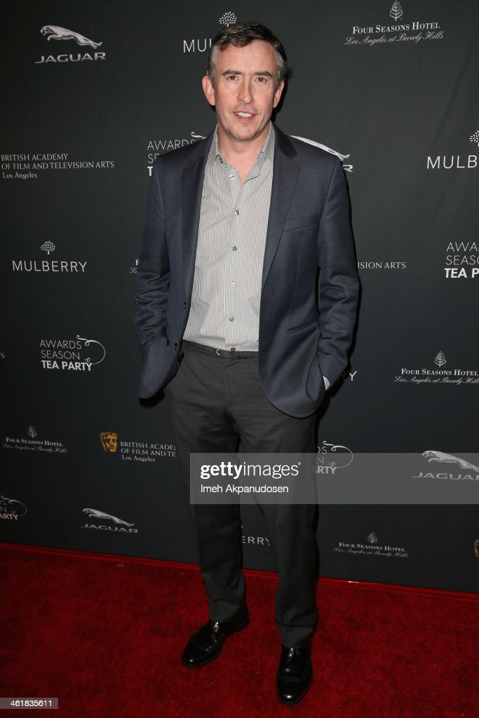 Actor <a gi-track='captionPersonalityLinkClicked' href=/galleries/search?phrase=Steve+Coogan&family=editorial&specificpeople=204648 ng-click='$event.stopPropagation()'>Steve Coogan</a> attends the BAFTA LA 2014 Awards Season Tea Party at the Four Seasons Hotel Los Angeles at Beverly Hills on January 11, 2014 in Beverly Hills, California.