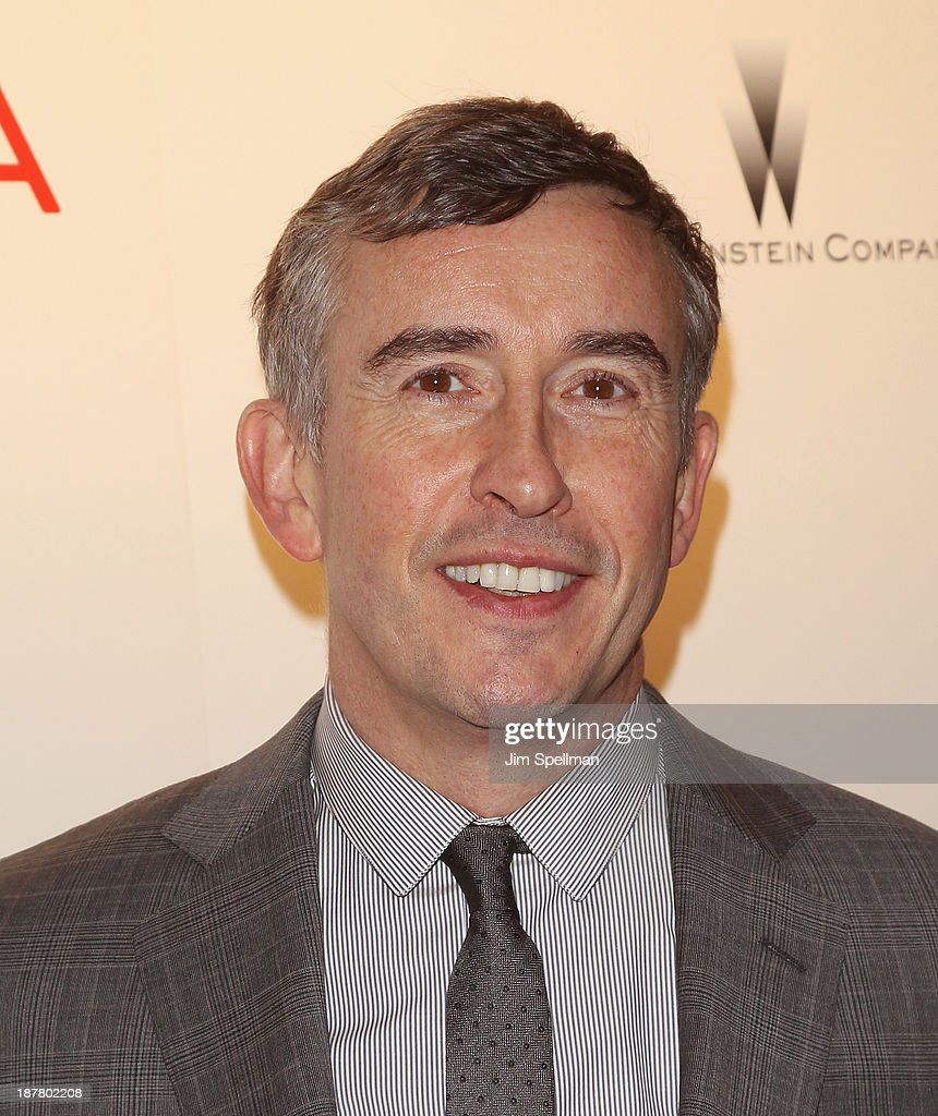 Actor Steve Coogan attends the premiere of 'Philomena' hosted by The Weinstein Company at Paris Theater on November 12, 2013 in New York City.