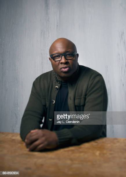Actor Steve Harris from the film Burning Sands is photographed at the 2017 Sundance Film Festival for Los Angeles Times on January 23 2017 in Park...