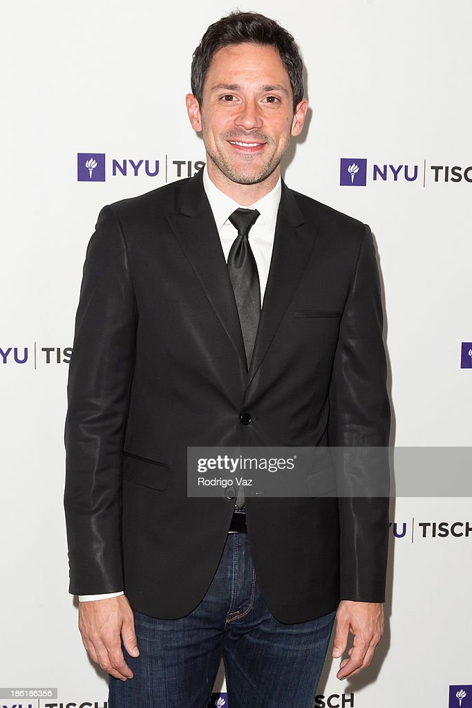 Actor <a gi-track='captionPersonalityLinkClicked' href=/galleries/search?phrase=Steve+Kazee&family=editorial&specificpeople=5624843 ng-click='$event.stopPropagation()'>Steve Kazee</a> attends NYU's Tisch School Of the Arts LA Gala at Regent Beverly Wilshire Hotel on October 28, 2013 in Beverly Hills, California.