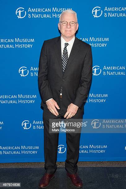 Actor Steve Martin attends the 2015 American Museum Of Natural History Museum Gala at American Museum of Natural History on November 19 2015 in New...