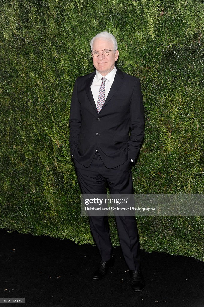 Actor Steve Martin attends the 2016 Museum Of Modern Art Film Benefit presented by Chanel - A Tribute To Tom Hanks at Museum of Modern Art on November 15, 2016 in New York City.