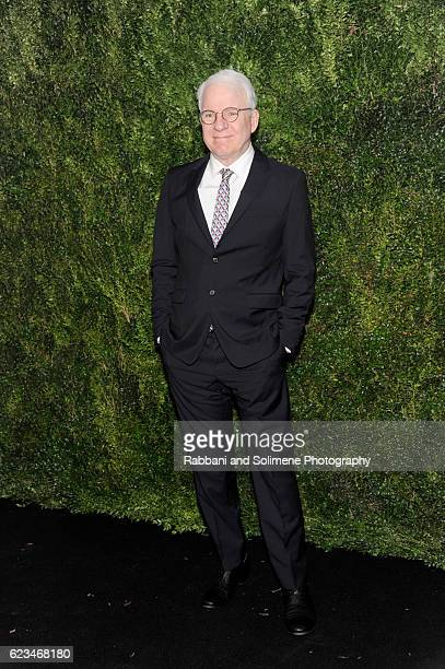 Actor Steve Martin attends the 2016 Museum Of Modern Art Film Benefit presented by Chanel A Tribute To Tom Hanks at Museum of Modern Art on November...