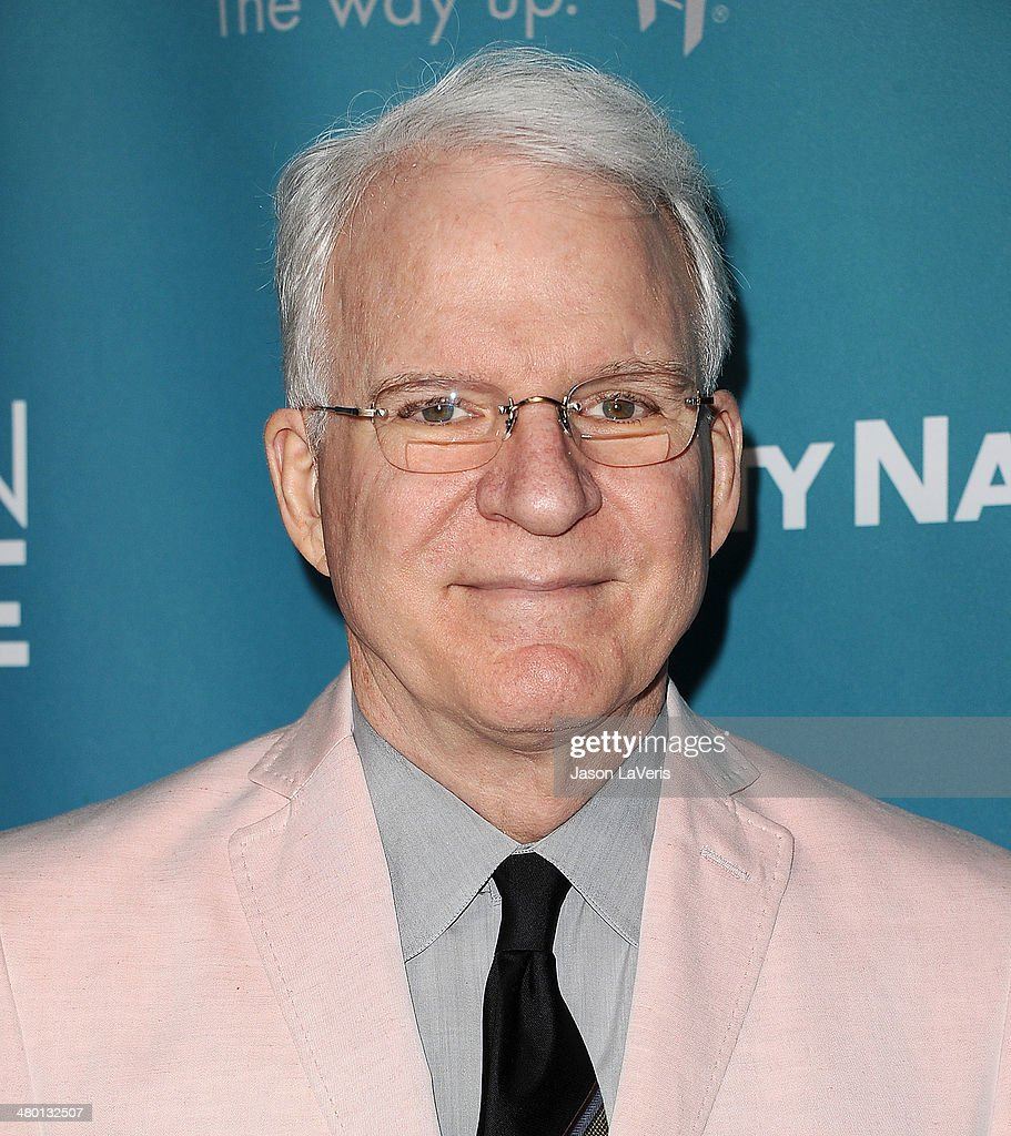 Actor <a gi-track='captionPersonalityLinkClicked' href=/galleries/search?phrase=Steve+Martin+-+Comedian&family=editorial&specificpeople=196544 ng-click='$event.stopPropagation()'>Steve Martin</a> attends the Backstage at the Geffen annual fundraiser at Geffen Playhouse on March 22, 2014 in Los Angeles, California.