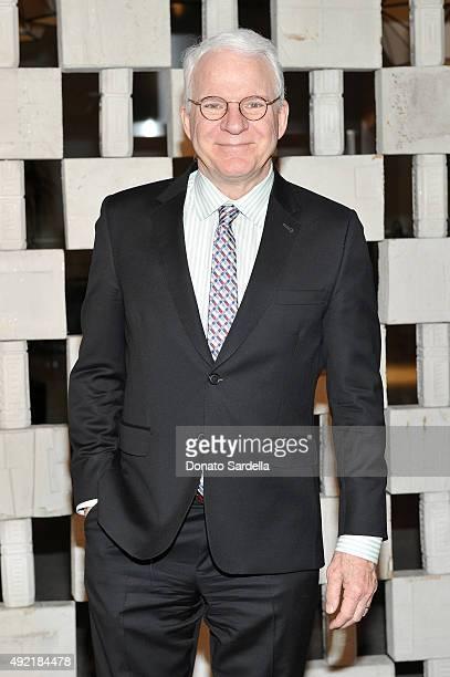 Actor Steve Martin attends the Hammer Museum Gala in Garden sponsored by Bottega Veneta at Hammer Museum on October 10 2015 in Westwood California