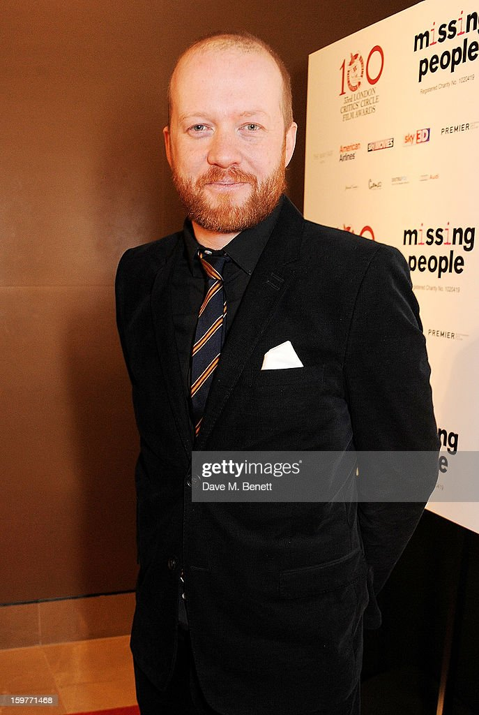 Actor Steve Oram arrives at the London Critics Circle Film Awards at the May Fair Hotel on January 20, 2013 in London, England.